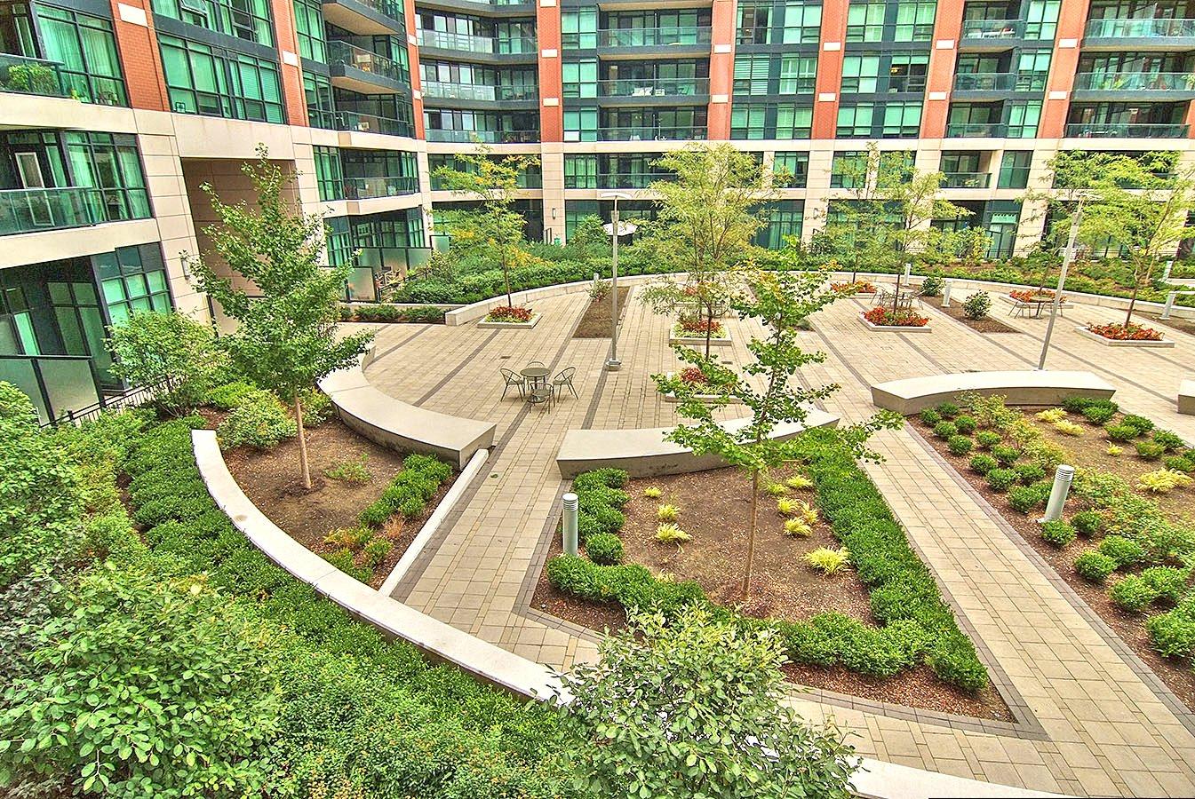 Gramercy Park courtyard gardens